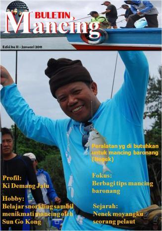 Cover Boy Majalah Tegek