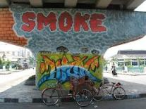 mural - smoke