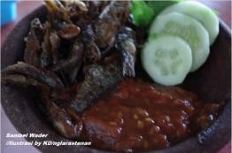 sambal wader
